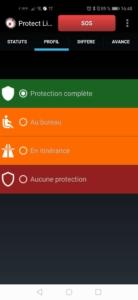 rte protect appli smartphone android pti protection de travailleur isolé dati