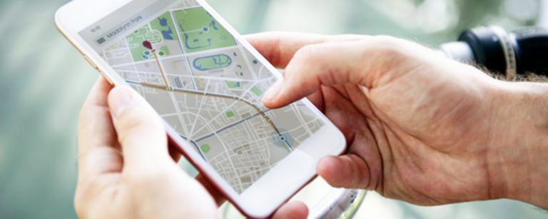 geolocalisation application smartphone iphone